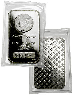 Morgan Dollar Design 1 oz .999 Fine Silver Bar SKU29387