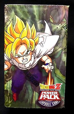 Dragonball Z Power Pack Series 1 2002 Sealed with Saiyan Saga Booster new 2002