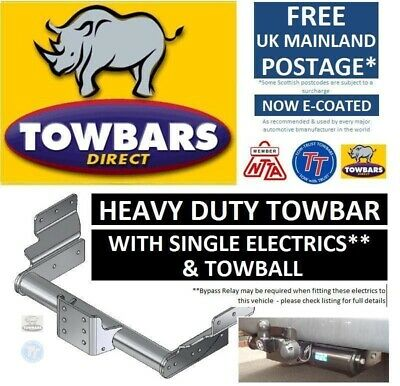 Towbar for Ford Transit Van & Minibus 2000 to 2014 Heavy Duty Flange Tow Bar Kit