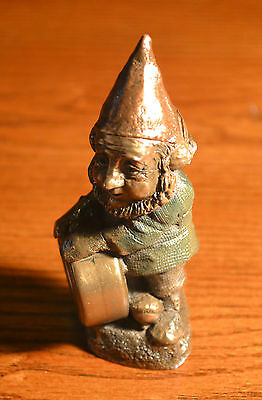 Racing Tyrone by Tom Clark Accented Cairnbronze Gnome #37 Figurine--Must See