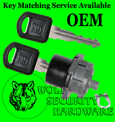 Chevy Astro GMC Safari Van 96-05 OEM Manual Rear Door Lock Key Cylinder 2 Keys
