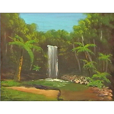 Art Lesson Dvd - Millaa Millaa Falls - Queensland