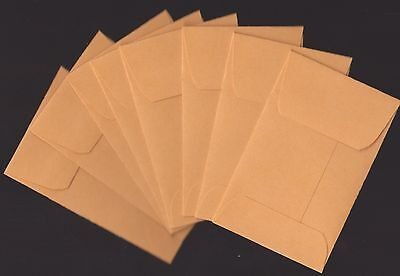 "(50) Quality Park 28lb manila gold   Coin/Small Parts Envelopes 2-1/4"" x 3-1/2"""