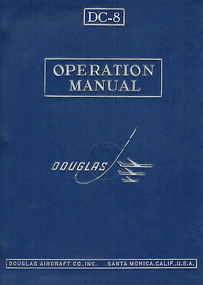 Douglas Dc-8 - Operation Manual / Systems - 1961