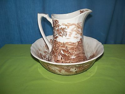 Alfred Meakin Reverie Vegetable Bowl with Pitcher