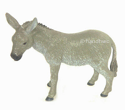 FREE SHIPPING | AAA 97220 Grey Donkey Burro Model Toy Figurine - New in Package