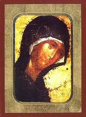Orthodox Byzantine Museum Copies Themed Icons Of The Holy Virgin in Variations