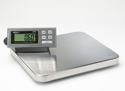 PROSHIP LARGE Digital 181Kg 400lb Heavy Duty Postal Parcel Platform Scales Weigh