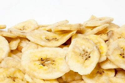 SweetGourmet Imported Unsweetened Banana Chips (Dried Fruit)-2LB FREE SHIPPING!
