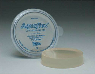 Parker Labs AQUAFLEX Ultrasound Gel Pad 2x9cm 04-02 Disposable Standoff ONE New