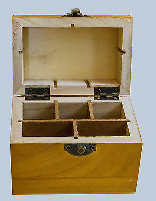 Jewelry Tools United Professional Wooden Gold Acid Testing Box 10k14k18k22k Silver Plat Stone Slots