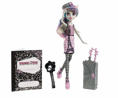 Monster High Travel Scaris Rochelle Goyle Doll, Free Shipping, New