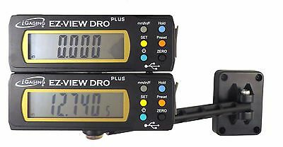 "Igaging 2 Pc set 2 each 6""/150 mm Digital Readout / Read Out DRO Remote Display"