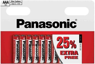 Panasonic Aaa R03 Size S 1.5V Zinc Carbon Batteries 10 Pcs In Pack