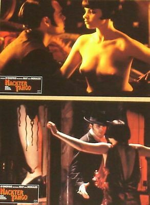 NAKED TANGO - Lobby Cards Set - Vincent D'Onofrio, Mathilda May