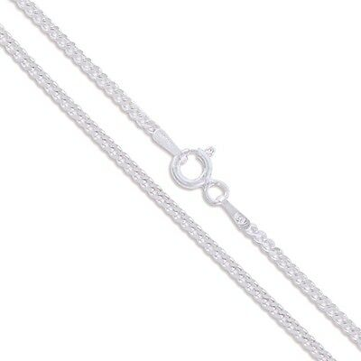 Fine Necklaces & Pendants Sterling Silver Men's Necklace Marina Anchor Flat Link Chain 925 Italy Wholesale Precious Metal without Stones