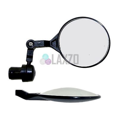M-Wave Bicycle Bar End Mirror 3D, Cycle Handlebar Rear View Mountain Road Bike