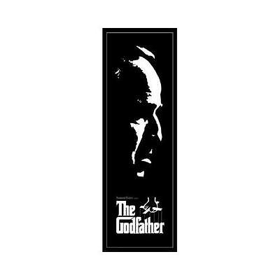 *the Godfather Black & White Door Poster Sealed Film New Official*