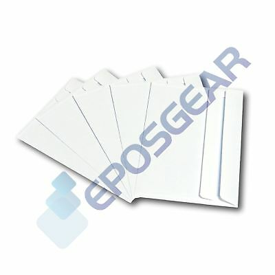 50 A6 C6 Plain White Self Seal Wallet Letter Invite Envelopes 162mm x 114mm