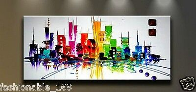 Modern Abstract hand-painted Art Oil Painting Wall Decor canvas NO frame