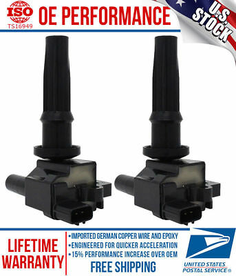 SET OF 2 NEW IGNITION COIL ON PLUG PENCIL **FITS ALL 2.4L 4cyl UF285, C1226
