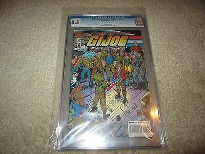G.i.joe #155 Cgc 8.5 Final Issue Extremely Low Print Run Rare!!!