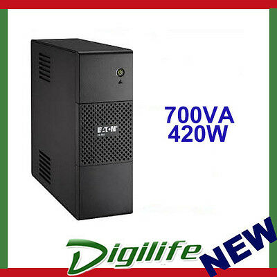 Eaton 5S700AU 700VA/420W Line Interactive Tower UPS - AVR with Booster+Fader