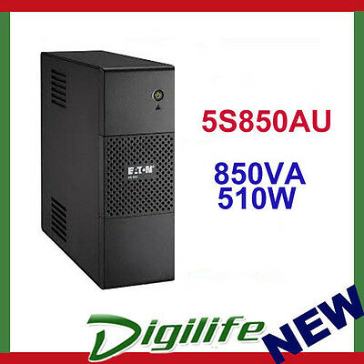 Eaton 5S850AU 850VA 510W Line Interactive Tower UPS with LCD Display