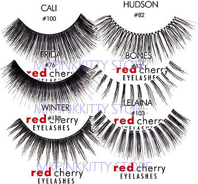 Red Cherry Lashes  (All Style) 20 PAIRS - False Eyelashes All style Mix