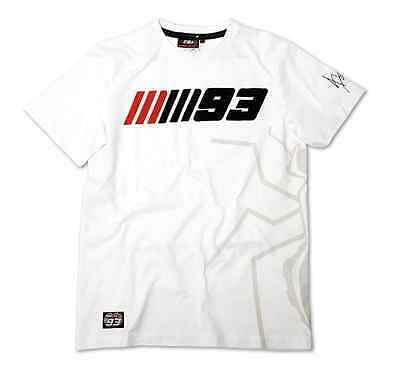 New Official Marc Marquez 93 White MM93 T'Shirt