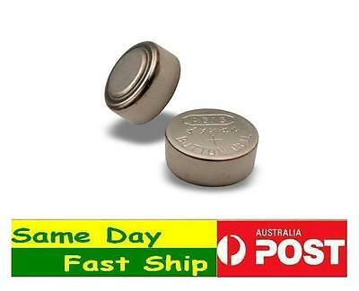 2 Pcs AG13 LR44 Alkaline Button Cell Battery AU Local Fast Ship From Melbourne