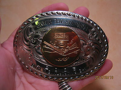 Awesome ~WAGE~ 2005 Shooting RIfle Gun Trophy Award Belt Buckle MAKE OFFER