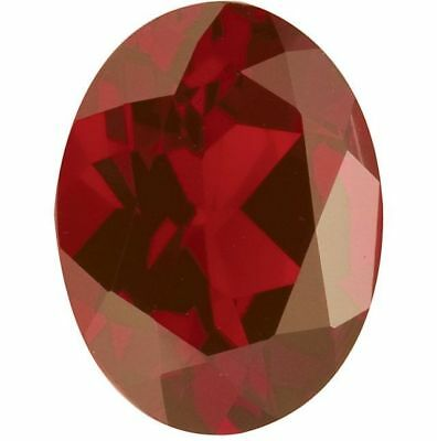 Natural Deep Red Garnet - Oval - Madagascar - Top Grade - Loose Gemstone