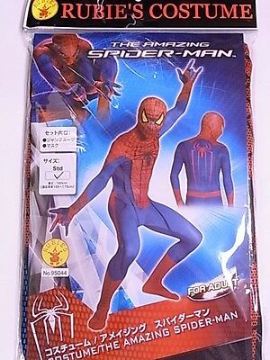 The Amazing Spider-Man Adult Costume RUBIE'S Cosplay Halloween Men Jumpsuit mask