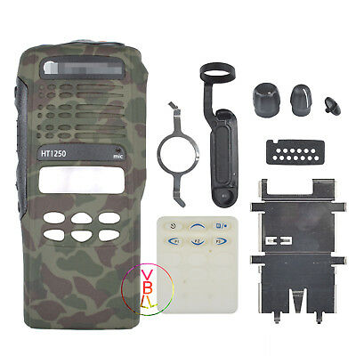 Camouflage Repair kit Housing Case For Motorola HT1250 limited-keypad Radio
