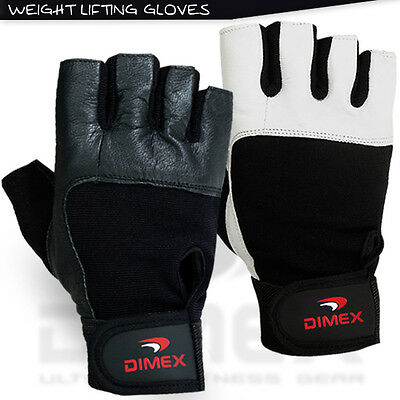Weight Lifting Gloves Gym Fitness Exercise Training Workout Padded Glove Dimex
