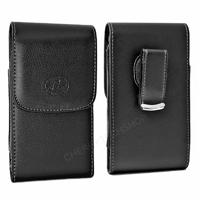 Leather Vertical Swivel Belt Clip Case Pouch for LG Cell Phones ALL CARRIERS NEW