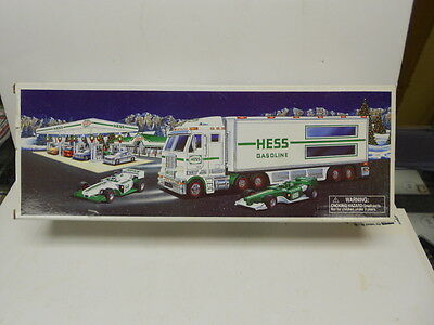 2003 Hess Toy Truck and Race Cars NIB See Discription