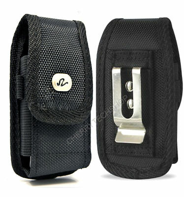 Vertical Rugged Heavy Duty Canvas Belt Clip Case for LG Cell Phones ALL CARRIERS