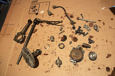 1981 KAWASAKI KZ440 LTD KZ 440 sprocket cover side engine