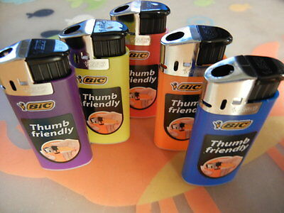 MINI BIC Electronic Lighter 5 Lighters