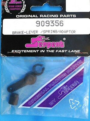 Serpent 909356 Leva Freno Brake Lever & Spring Set  modellismo
