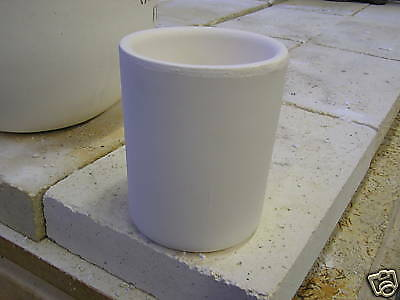 "High-Fired Crucible 6""OD x 7 1/2"" high"