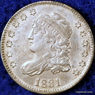 Great Estate Find!! 1831 High Grade Early Capped Bust Liberty Half Dime!!