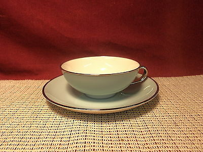 Franciscan China Dawn Pattern Cup & Saucer Set