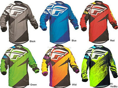 Fly Racing F-16 Jersey Adult & Youth Sizes MX/ATV/BMX/MTB 2015 Riding Gear