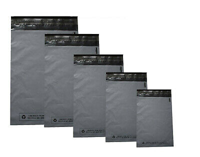 GREY MAILING BAGS PLASTIC POLY POSTAGE POST PACKING STRONG SELF SEAL |Quality|