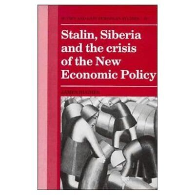Stalin Siberia Crisis New Economic Policy by James Hughes 9780521380393 Cond=NSD