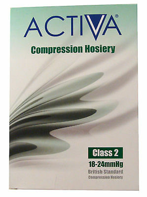 Activa Compression Hosiery,Class2,Below Knee,Open Toe,Sand,choose size