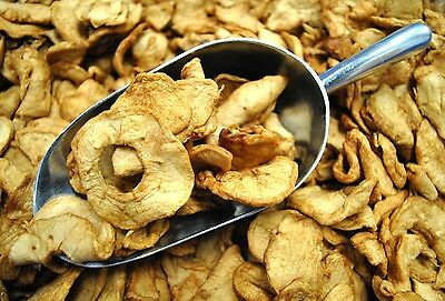 SweetGourmet No Sulfur Dried Apple Rings (Dry Fruit Apples)  - 1LB FREE SHIPPING